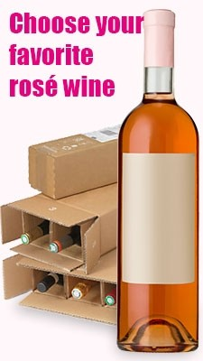 Rosé wine mixed cases