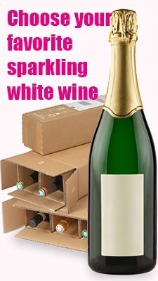 Sparkling white wine mixed cases